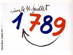 Grapus. Vive le 14 juillet 1789. France, 1978.
