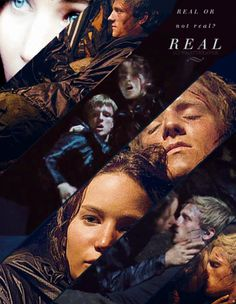 The Hunger Games Mocking Jay Part 1| Serafini Amelia| Its not real Peeta | Real or not real - Peeta Mellark and Katniss Everdeen Fan Art ...