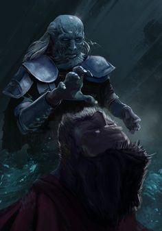 White Walker: Amazing Digital Illustration by Piotr Tekień