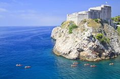 Dubrovnik Sea Kayak and Snorkeling Small-Group Tour - Lonely Planet @Claire Crocker