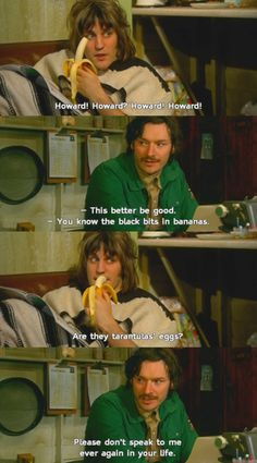 The Mighty Boosh Absolutely one of my FAVORITE TMB moments. :)