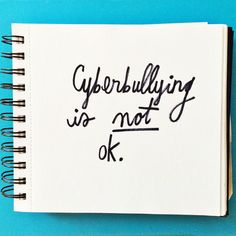 Cyberbulling is NOT ok! Click through to see what you can do to counteract negativity with  kindness!