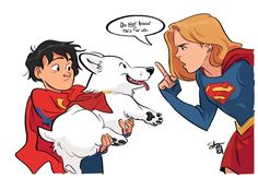 'Tis a Silly Place Supergirl Comic, Supergirl And Flash, Arte Dc Comics, Batman Comics, Drawing Cartoon Characters, Cartoon Drawings, Kawaii Drawings, Superman Family, Robin