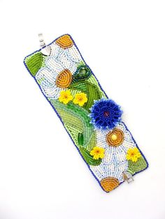 Bracelet handmade beaded Summer in the by TreasuresOfMySoul