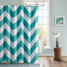 What would be fun for our dorm bathroom?? Tried to find something bright and fun. :)  Mi Zone Aries Fabric Shower Curtain
