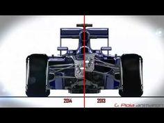 Formula 1 // 2014 vs 2013 // Giorgio Piola.