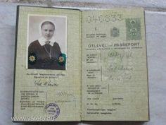 Régi útlevél, 1937. - 2500 Ft