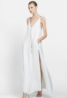 White Dress. Lanvin