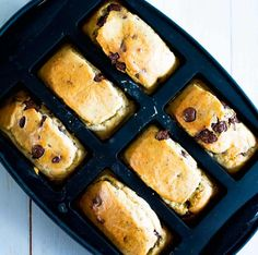 These choc chip chia mini loaves are perfect for the lunchbox, with the goodness of chia seeds and wholemeal flour! Freezer friendly.