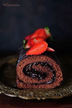 Chocolate Swiss Roll, the most amazing, classy looking cake. This cake looks beautiful when served on the table and will surely be a show stopper. This cake requires a little pra…
