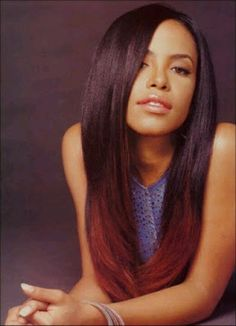 #Aaliyah so ahead of her time...she did ombre right and now years later everyone's catching up