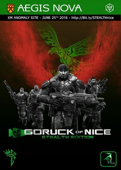 Aegis Nova and GORUCK