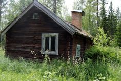 Found an old cottage in the middle of the forest near Gvle Sweden  #abandoned #found #cottage #middle #forest #near #gvle #sweden #photography