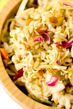 Chinese Coleslaw - Made with Ramen