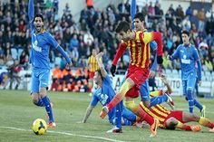 Pertandingan Divisi Primera untuk kali ini akan mempertemukan Prediksi Getafe vs Barcelona yang akan digelar Pada hari Sabtu (13/12/2014) Berlangsung di Coliseum Alfonso Perez, Getafe-Madrid dan akan dilaksanakan pada Pukul 22.00 WIB.