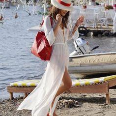 ebay - Women-Kimono-Cardigan-Chiffon-Long-Loose-Blouse-Summer-Beach-Wear-Cover-Up-Wrap