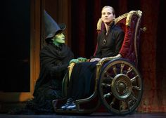 My cast, Jessica Vosk & Kristen Martin Broadway Wicked, Wicked Musical, Broadway Theatre, Musical Theatre, Broadway Shows, The Witches Of Oz, Ella Enchanted, Hot Stories, Musicals Broadway