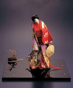 アミューズミュージアムにて和紙人形展
