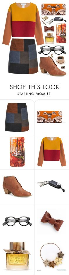 """""""long time no see"""" by karlakasihtajaya ❤ liked on Polyvore featuring MiH, Valentino, Philosophy di Lorenzo Serafini, G.H. Bass & Co., Burberry and Leica"""