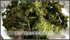 Easy Oven Kale Chips #eatclean #cleaneating  #heandsheeatclean #recipe