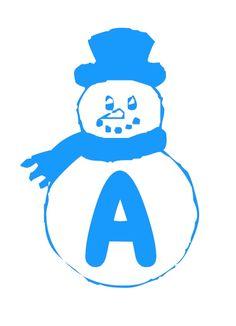 Zima - napis 2 Grudzień Napisy Święta i pory roku Zima Caterpillar, Smurfs, Christmas Ideas, Diy, Fictional Characters, Alphabet, Xmas, Snow Flakes, Bricolage