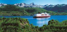 #HURTIGRUTEN #NORDKAPP Kirkenes, Tromso, Trondheim, Cruise Travel, Cruises, River, Mountains, Nature, Outdoor
