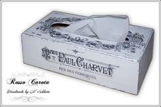 Brag Monday - Spring Petite Jar & French Tissue Box - The Graphics Fairy