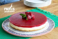 Fırınsız Cheesecake Tarifi Cheesecakes, Tiramisu, Delicious Desserts, Muffin, Food And Drink, Gluten, Breakfast, Ethnic Recipes, Drinking