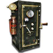 Steampunk Vault Icon for Truecrypt