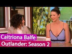 OUTLANDER Season 2: Caitriona Balfe Interview on The Talk TV Show | June...