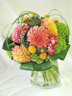 bouquet of dahlia