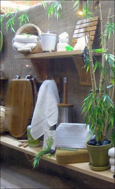 Bamboo Health Spa Visual Merchandising bei Cole Hardware Source by krystinalisi Visual Merchandising, Bamboo Store, Best Lush Products, Spa Store, Spa Design, Design Ideas, Bathroom Showrooms, Store Window Displays, Massage Room