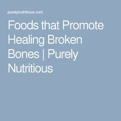 Foods To Eat Before Surgery To Promote Healing