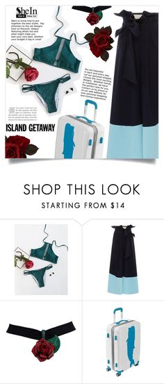 """Shein -bikini-"" by dolly-valkyrie ❤ liked on Polyvore featuring Johanna Ortiz"