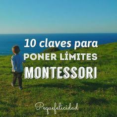 Hoy quiero hablarte de uno de los aspectos que resulta más complicado a los padres a la hora de integrar la filosofía Montessori en el hogar; Poner límites  ¿Por qué nos cuesta tanto poner límites? No