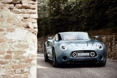 Mini Superleggera Vision: A one-off speedster with style. #mini