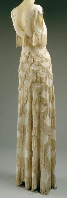 Madeleine Vionnet - Robe du Soir - 1938