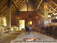 Viking Longhouses also provide inspiration for home layout