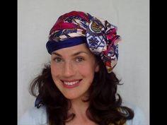 9 WAYS to wear a HAIR SCARF (vintage retro turban headwrap) - VINTAGIOUS - YouTube