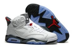 best sneakers daac6 14627 ... coupon cheap priced air jordan 6 first championship white blue and red  mysecretshoes nike b7b6f 3c969