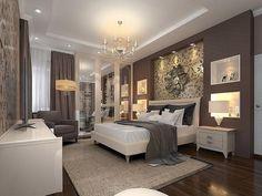 Как создать образ своей неповторимой спальни? 25 роскошных идей дизайна! — Мир интересного Dream Bedroom, Master Bedroom, Bedroom Decor, Bedroom Ideas, Shared Bedrooms, Design Case, Beautiful Space, Furniture Decor, Decoration