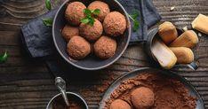 Božské, nepečené guľky, ktoré zmiznú skôr, ako ich stihnete položiť na stôl. Tiramisu, Cereal, Cookies, Chocolate, Breakfast, Food, Basket, Crack Crackers, Morning Coffee