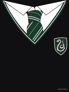 Slytherin Uniform by cearanissa - Angela Slytherin Harry Potter, Slytherin House, Slytherin Pride, Harry Potter Houses, Slytherin Aesthetic, Harry Potter Anime, Hogwarts Houses, Harry Potter World, Slytherin Quotes