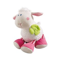 Cuddle up with Cuddlekin Cotti from Haba's Pure Nature Collection. This sweet little lamb will bring a smile to your little one's face! Made from high quality organic cotton and polyester filling. Machine washable.