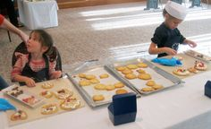 London Food - royal-garden-hotel-london-cookie-making - holidays for Junior Chefs