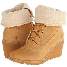 Timberland Earthkeepers Amston Roll-Top Women's Lace-up Boots ($140) ❤ liked