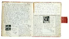 Anne frank  The diary and Diaries on Pinterest Pinterest     Anne Frank     s Diary