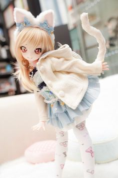Nyakio s Dolls - anime figure You are in the right place about waldorf Doll Here we offer you the most beautiful pictures about the Doll dress yo Anime Dolls, Ooak Dolls, Blythe Dolls, Kawaii Doll, Anime Kawaii, Pretty Dolls, Beautiful Dolls, Dream Doll, Smart Doll