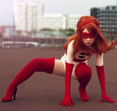 Probably The Best Elastic Girl Cosplay Ever