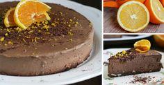 Recept na neodolateľnú čokoládovo-pomarančovú RAW tortu - zdravý dezert pre každého! Čokoládovo-pomarančová RAW torta. Nepečená, bezgluténová, vegánska